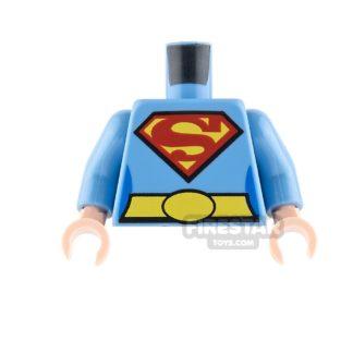 Product shot LEGO Mini Figure Torso - Supergirl