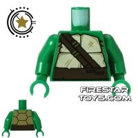 Product shot LEGO Mini Figure Torso - Teenage Mutant Ninja Turtles - Shell with Straps