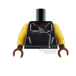 Product shot LEGO Mini Figure Torso - The Shocker
