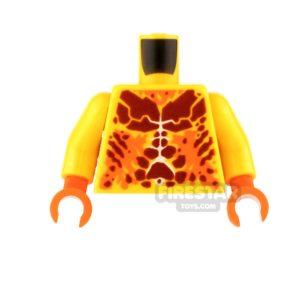Product shot LEGO Mini Figure Torso - Ultimate Flama