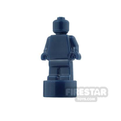 Product shot LEGO - Minifigure Trophy Statuette - Dark Blue