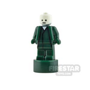 Product shot LEGO - Minifigure Trophy Statuette - Voldemort