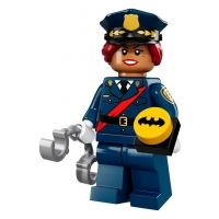 Product shot LEGO Minifigures 71017 - Barbara Gordon