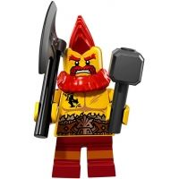 Product shot LEGO Minifigures 71018 - Battle Dwarf