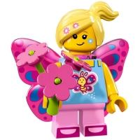 Product shot LEGO Minifigures 71018 - Butterfly Girl
