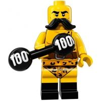 Product shot LEGO Minifigures 71018 - Circus Strong Man