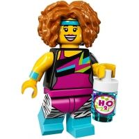 Product shot LEGO Minifigures 71018 - Dance Instructor