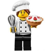 Product shot LEGO Minifigures 71018 - Gourmet Chef