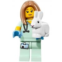 Product shot LEGO Minifigures 71018 - Veterinarian