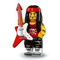 Product shot LEGO Minifigures 71019 - Gong & Guitar Rocker