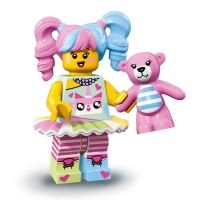 Product shot LEGO Minifigures 71019 - N-POP Girl