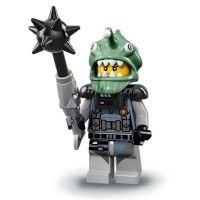 Product shot LEGO Minifigures 71019 - Shark Army Angler