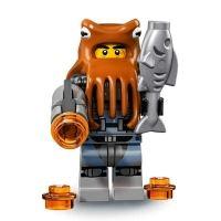 Product shot LEGO Minifigures 71019 - Shark Army Octopus