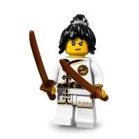 Product shot LEGO Minifigures 71019 - Spinjitzu Training Nya