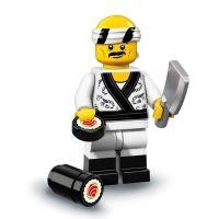 Product shot LEGO Minifigures 71019 - Sushi Chef