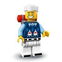 Product shot LEGO Minifigures 71019 - Zane