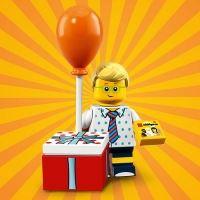 Product shot LEGO Minifigures 71021 Birthday Party Boy