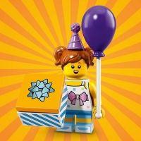 Product shot LEGO Minifigures 71021 Birthday Party Girl