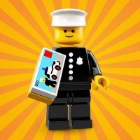 Product shot LEGO Minifigures 71021 Classic Police Officer