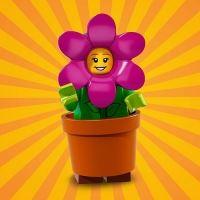 Product shot LEGO Minifigures 71021 Flower Pot Girl