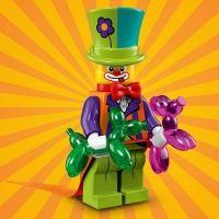 Product shot LEGO Minifigures 71021 Party Clown