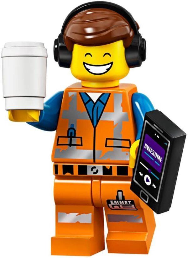 Product shot LEGO Minifigures 71023 Awesome Remix Emmet