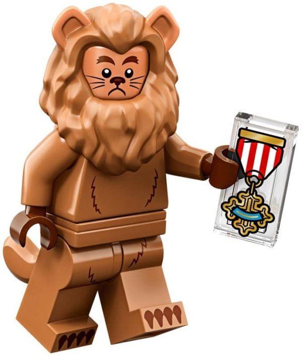 Product shot LEGO Minifigures 71023 Cowardly Lion