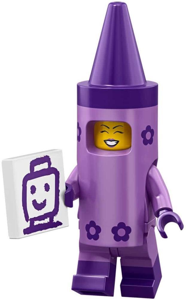 Product shot LEGO Minifigures 71023 Crayon Girl