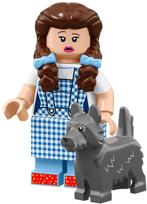 Product shot LEGO Minifigures 71023 Dorothy Gale & Toto