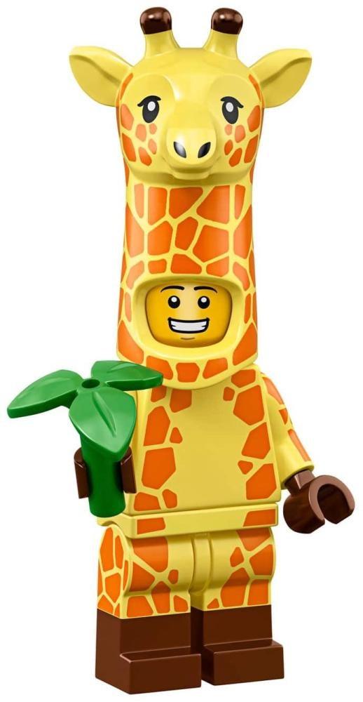 Product shot LEGO Minifigures 71023 Giraffe Guy