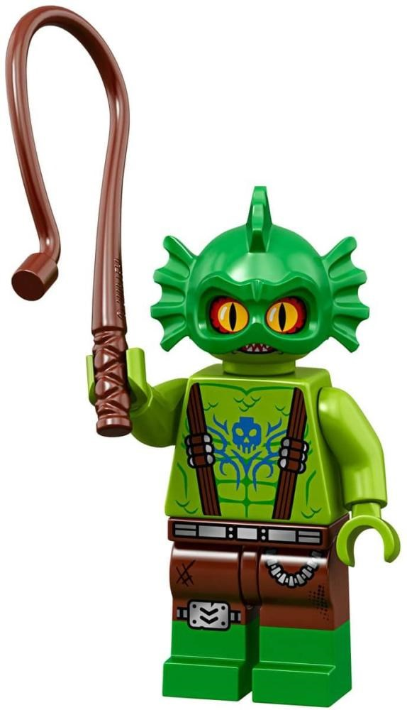 Product shot LEGO Minifigures 71023 Swamp Creature