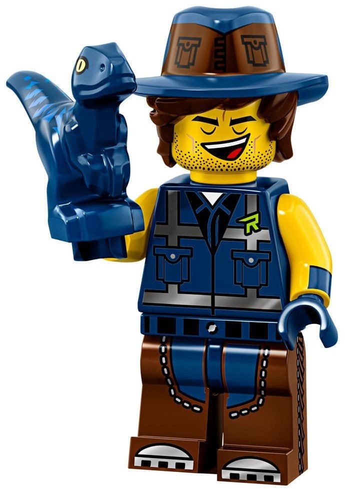 Product shot LEGO Minifigures 71023 Vest Friend Rex