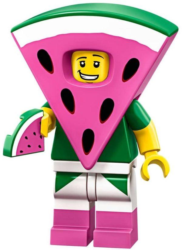 Product shot LEGO Minifigures 71023 Watermelon Dude