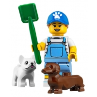 Product shot LEGO Minifigures 71025 Dog Sitter