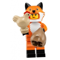 Product shot LEGO Minifigures 71025 Fox Costume Girl