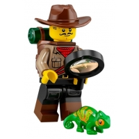 Product shot LEGO Minifigures 71025 Jungle Explorer