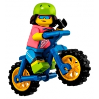 Product shot LEGO Minifigures 71025 Mountain Biker