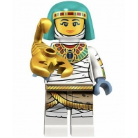 Product shot LEGO Minifigures 71025 Mummy Queen