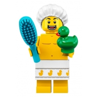 Product shot LEGO Minifigures 71025 Shower Guy