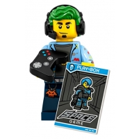 Product shot LEGO Minifigures 71025 Video Game Champ