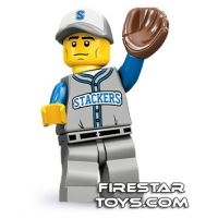 Product shot LEGO Minifigures - Baseball Fielder