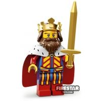 Product shot LEGO Minifigures - Classic King