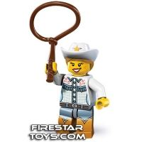 Product shot LEGO Minifigures - Cowgirl