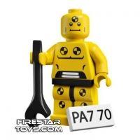 Product shot LEGO Minifigures - Demolition Dummy