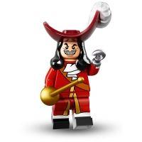 Product shot LEGO Minifigures - Disney - Captain Hook