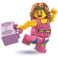 Product shot LEGO Minifigures - Fitness Instructor