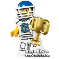 Product shot LEGO Minifigures - Football Player