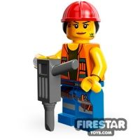 Product shot LEGO Minifigures - Gail the Construction Worker