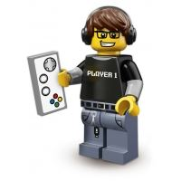 Product shot LEGO Minifigures - Gamer