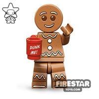 Product shot LEGO Minifigures - Gingerbread Man